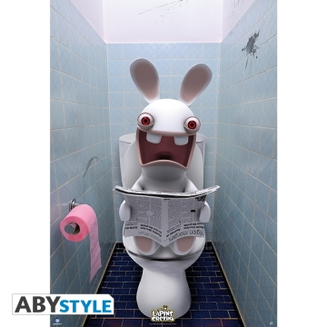 Постер ABYstyle: Raving Rabbids WC