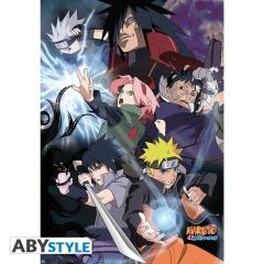 Постер ABYstyle: Naruto Shippuden Ninja War O314