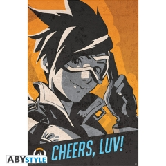 Постер ABYstyle: Overwatch Tracer Cheers Luv O443
