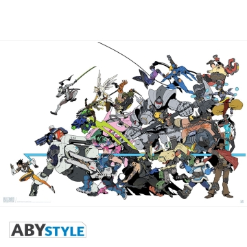 Постер ABYstyle: Overwatch All Characters O444
