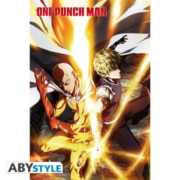 Постер ABYstyle: One Punch Man Saitama and Genos O503