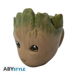 Кружка ABYstyle Mug 3D Marvel Groot 626