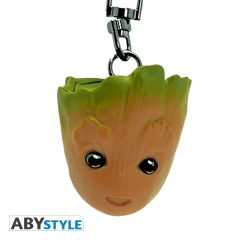 Брелок ABYstyle MARVEL 3D Groot 290