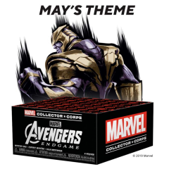 Коробка Funko Marvel Collector Corps: Avengers Endgame