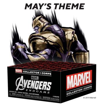 Коробка Funko Marvel Collector Corps: Avengers Endgame