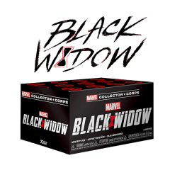 Коробка Funko Marvel Collector Corps Box: Black Widow