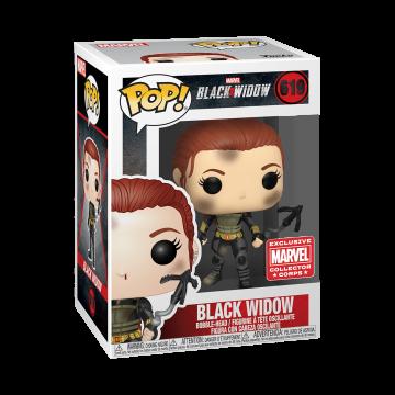 Коробка Funko Marvel Collector Corps Box: Black Widow