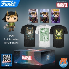 Коробка Funko Marvel Loki Mystery Box PX Exclusive