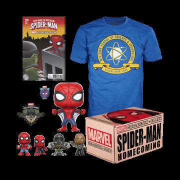 Коробка Funko Marvel Collector Corps: Spider-Man Homecoming Box