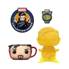 Коробка Funko Marvel Collector Corps: Doctor Strange Box