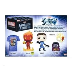 Коробка Funko Marvel Collector Corps Box: Fantastic Four