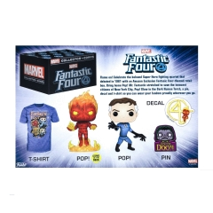 Коробка Funko Marvel Collector Corps Box: Fantastic Four