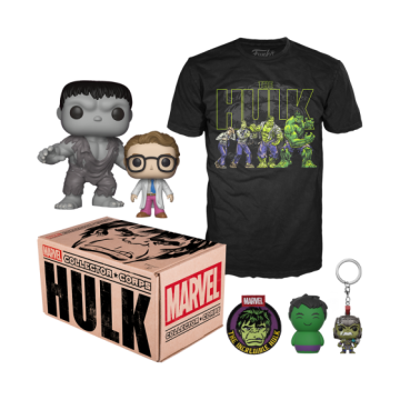 Коробка Funko Marvel Collector Corps: Hulk Box