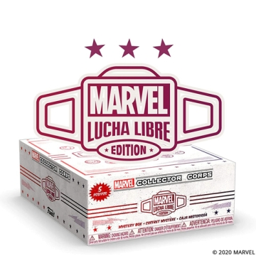 Коробка Funko Marvel Collector Corps Box: Lucha Libre