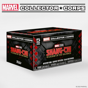 Коробка Funko Marvel Collector Corps Box: Shang-Chi