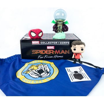 Коробка Funko Marvel Collector Corps Box: Spider Man Far From Home