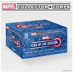 Коробка Funko Marvel Collector Corps Box: Year Of The Shield