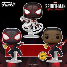 Фигурка Funko POP! Spider-Man: Miles Morales Game Track Suit 50153