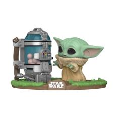 Фигурка Funko POP! Star Wars: The Mandalorian: Child with canister 50962