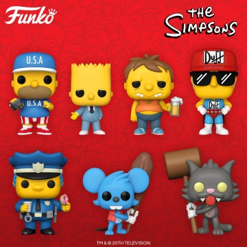 Фигурка Funko POP! The Simpsons: Itchy 52958