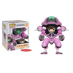 "Фигурка Funko POP! Overwatch: 2PK: D.VA and Mech 6"" 13090"