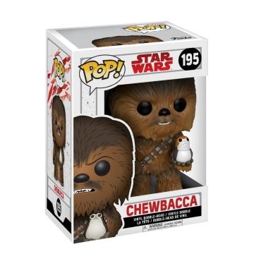 Фигурка Funko POP! Bobble: Star Wars: The Last Jedi: Chewbacca 14748