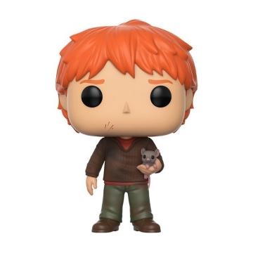Фигурка Funko POP! Harry Potter: Ron Weasley with Scabbers 14938
