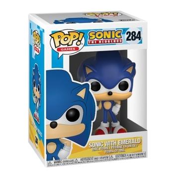 Фигурка Funko POP! Sonic: Sonic with Emerald 20147