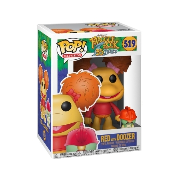 Фигурка Funko POP! Fraggle Rock: Red with Doozer Flocked (Exclusive) 21529