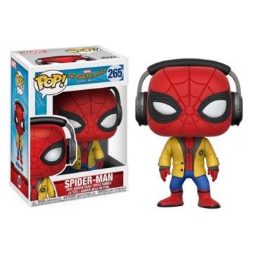 Фигурка Funko POP! Spider Man Homecoming: Spider Man With Headphones 21660
