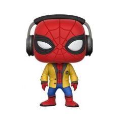 Фигурка Funko POP! Spider Man Homecoming: Spider Man With Headphones 21660