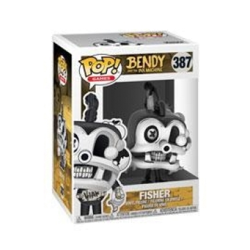 Фигурка Funko POP! Vinyl: Games: Bendy and the Ink Machine S3: Fisher 30616