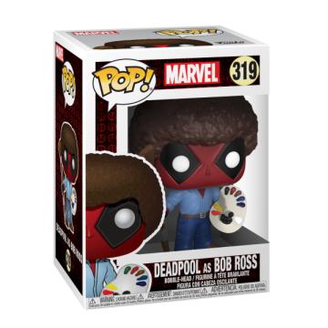 Фигурка Funko POP! Bobble: Marvel: Deadpool: Deadpool as Bob Ross 30865
