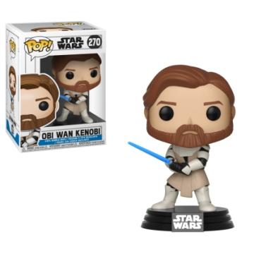 Фигурка Funko POP! Star Wars: The Clone Wars: Obi Wan Kenobi 31796