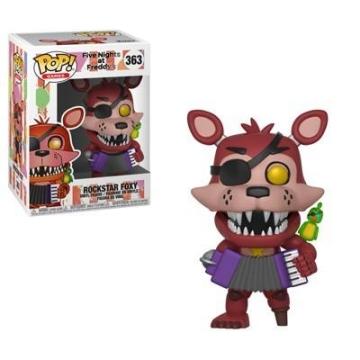 Фигурка Funko POP! FNAF 6 Pizza: Rockstar Foxy 32054