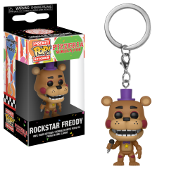 Брелок Funko Pocket POP! Keychain: FNAF: Rockstar Freddy 32155
