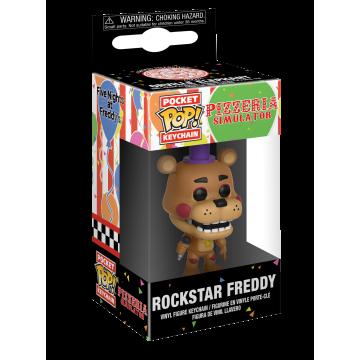 Брелок Funko Pocket POP! Keychain: FNAF: Rockstar Freddy 32155