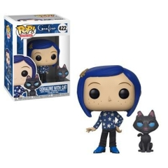 Фигурка Funko POP! Coraline: Coraline with Cat 32811