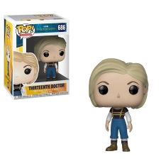 Фигурка Funko POP! Vinyl: Doctor Who: Thirteenth Doctor with Coat 32828