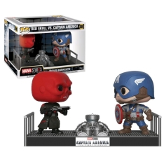 Фигурка Funko POP! Vinyl: Marvel: Movie Moments: Captain America vs Red Skull 32880