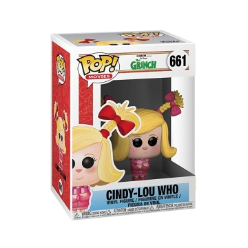 Фигурка Funko POP! The Grinch: Cindy Lou Who 33025