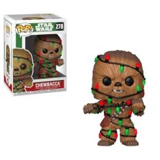 Фигурка Funko POP! Star Wars: Holiday Chewbacca with Lights 33886