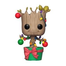 Фигурка Funko POP! Marvel: Holiday: Groot with Lightsa and Ornaments 33982