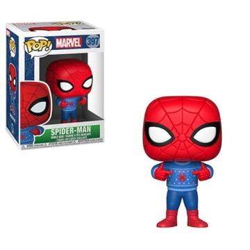 Фигурка Funko POP! Marvel: Holiday: Spider-Man with Ugly Sweater 33983