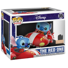 Фигурка Funko POP! Rides: Disney: Lilo and Stitch: Stitch The Red One (Exclusive) 35