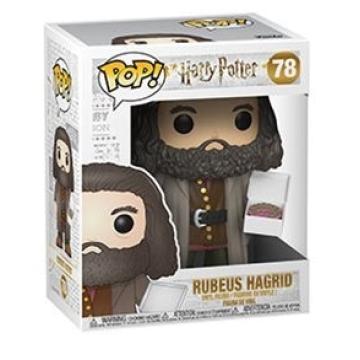 """Фигурка Funko POP! Harry Potter: Rubeus Hagrid with Cake 6"""" Inch 35508"""