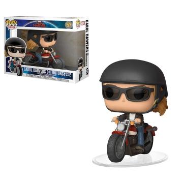 Фигурка Funko POP! Marvel: Carol Danvers on Motorcycle 36418
