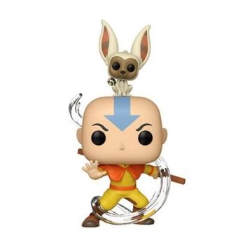Фигурка Funko POP! Avatar: The Last Airbender: Aang with Momo 36463