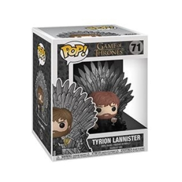 Фигурка Funko POP! Deluxe: Game of Thrones S10: Tyrion on Thron 37404
