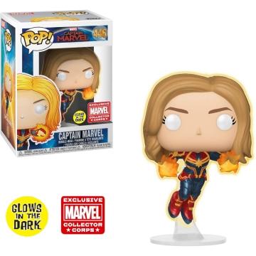 Фигурка Funko POP! Marvel: Captain Marvel Glow in Dark (Exclusive) 37509 - B